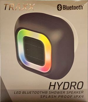 TRAXX HYDRO LED COLOR CHANGING SHOWER BLUETOOTH SPEAKER 90 DAY PANDORA PREMIUM for Sale in Detroit, MI
