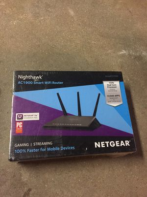 Nighthawk AC1900 Smart WIFI Router for Sale in Locust Valley, NY