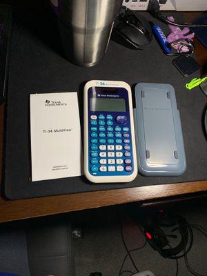 Ti-34 Multi view calculator for Sale in Kirkland, WA