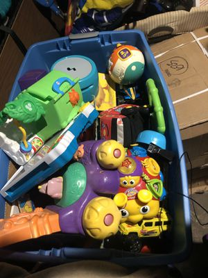Totes of kids toys. I have several totes full for Sale in Dallas, TX