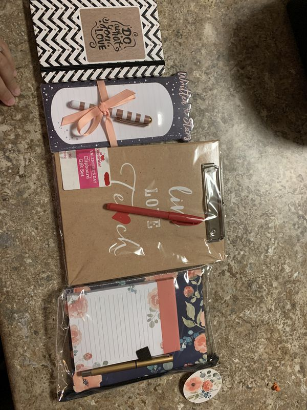 Notebooks and note pads