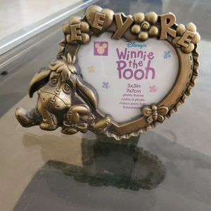 New Eyore Brass Picture Frame for Sale in West Palm Beach, FL