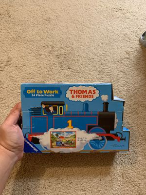 Thomas&friend off to work 24 piece puzzle for Sale in Tampa, FL