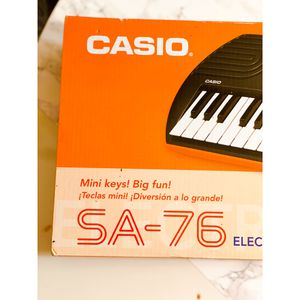 ASAP TODAY Casio SA-76 Electronic Keyboard Arranger for Sale in New York, NY