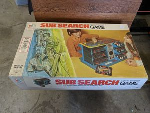 1973 Milton Bradley Sub Search Board Game for Sale in Reynoldsburg, OH