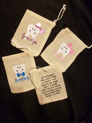 Personalized tooth fairy bags for Sale in OH, US