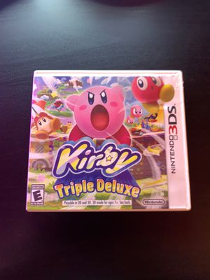 Nintendo 3DS Kirby's Triple Deluxe for Sale in Corona, CA