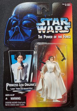 Star Wars Power of The Force 1996 Princess Leia Organa Red Card Action Figure for Sale in Lakewood,  WA