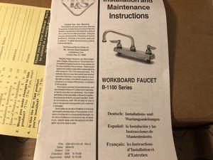 Workboard Faucet B-1100 Series for Sale in Ellendale, DE