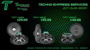 TIMPANO/TEMPESTA PRO AUDIO SPEAKERS DEALS! for Sale in Orlando, FL