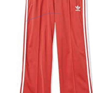 Never worn: Red Retro Adidas Flare Leg Track Pants for Sale in San Diego, CA