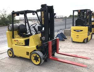 Hyster S80XL Box Car Forklift - lpg - 8k lb Cap for Sale in North Las Vegas, NV