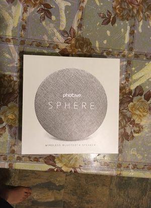 Photive Sphere wireless Bluetooth speaker for Sale in Sunnyvale, CA