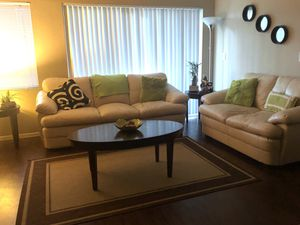 Luxury White Sofa Couch Set for Sale in Fort Lauderdale, FL