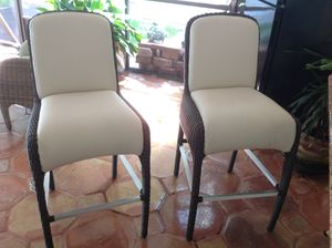 Bar Stools - Selling both Purchased from El Dorado (Excellent Condition!). for Sale in Miami, FL