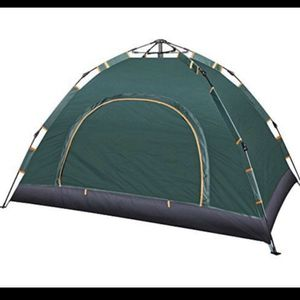 YAAO Dome 2to3 Person Tent Automatic Instant Tent for Camping Green * for Sale in Rancho Cucamonga, CA