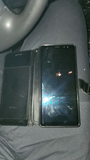 Excellent condition... Samsung Galaxy note 8 T-Mobile..... With wallet case!! for Sale in Los Angeles, CA