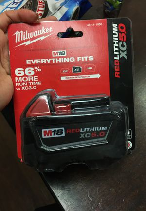 Milwaukee XC 5.0 battery for Sale in Bakersfield, CA