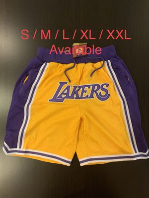 Lakers Just Don shorts for Sale in Rowland Heights, CA