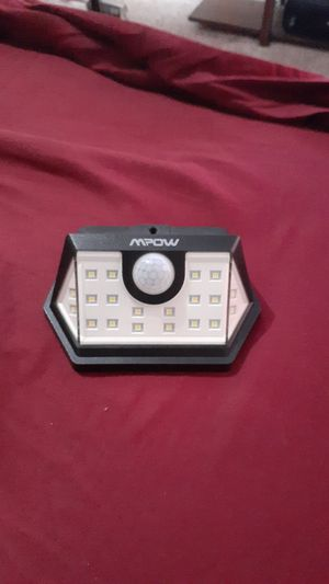 D Solar Lamp Security Motion Sensor Wide (2pk) for Sale in Joplin, MO