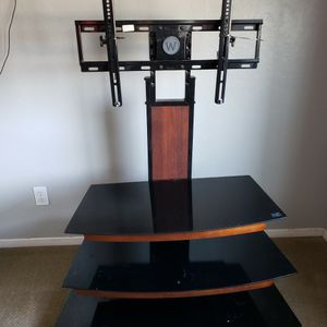 TV Stand With Shelves for Sale in Visalia, CA