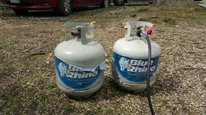 Gas one full and one emty for Sale in Brentwood, MD