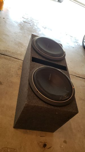 Rockford fosgate p2 15s for Sale in CANAL WNCHSTR, OH