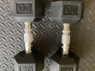 Pair Of Weider 20LB Dumbbells for Sale in Boise,  ID