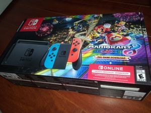 Nintendo switch Mario Kart deluxe for Sale in South Riding, VA