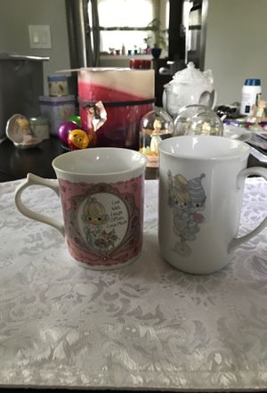 Precious moments mugs for Sale in Middleburg Heights, OH