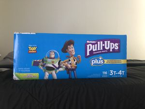 Pull Ups Diaper Training Pants 3T-4T for Sale in Riverside, CA