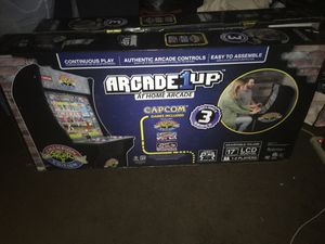 Arcade 1 Up 3 street Fighter Games Price Firm for Sale in Los Angeles, CA