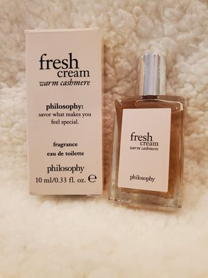 NEW Mini Philosophy Fresh Cream Warm Cashmere Perfume for Sale in Parma, OH