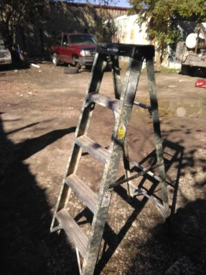 Camouflage pattern 5' A frame ladder for Sale in Houston, TX