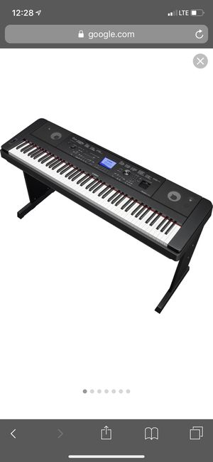 YAMAHA KEYBOARD, DGX 660 !! Going for cheap, great quality for Sale in College Station, TX