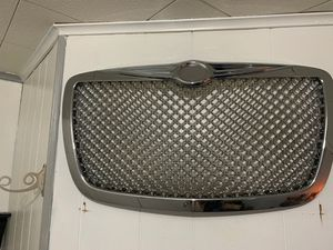 Chrysler 300 aftermarket chrome grille bumper for Sale in The Bronx, NY