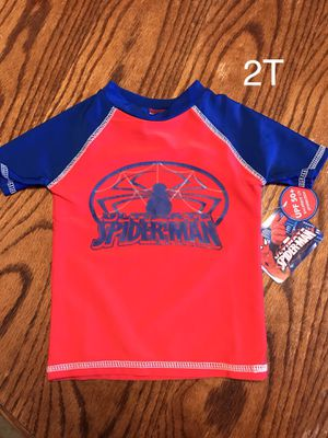 New Spider-man Rash guard 2T for Sale in Long Beach, CA