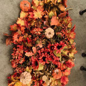 Fall Leaf & Pumpkin Decor for Sale in Simi Valley, CA