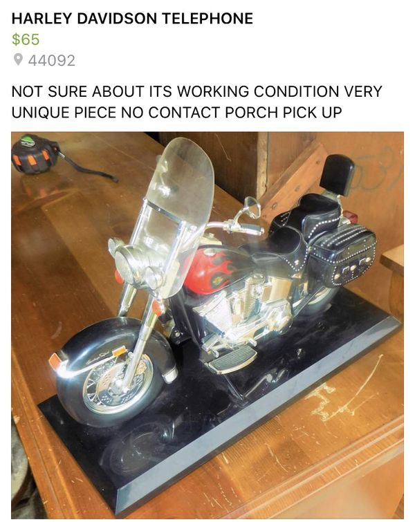Harley Davidson telephone