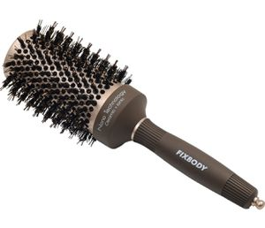 FIXBODY Boar Bristles Round Hair Brush, Nano Thermal Ceramic & Ionic Tech & Anti-Static, Roller Hairbrush for Blow Drying, Curling, Straightening, Ad for Sale in Las Vegas, NV