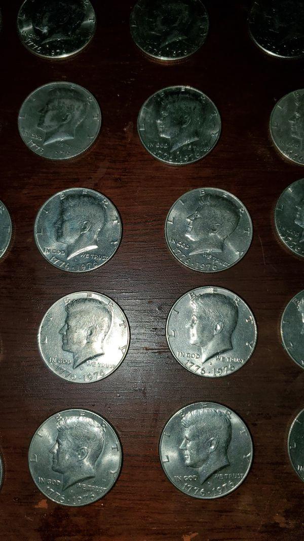1976 Bicentennial Liberty Half dollars 34 count