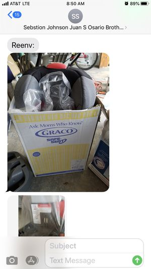 Graco car seat used a few times no accidents has been in storage for Sale in Lawrence, NY