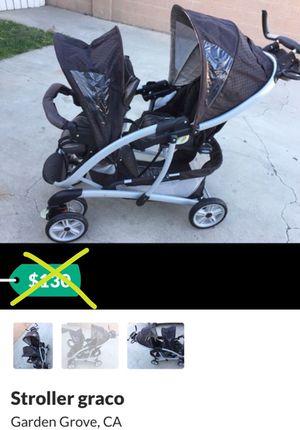 Graco double stroller for Sale in Santa Ana, CA