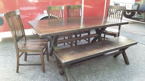 Dining Table w/ Bench for Sale in La Center, WA