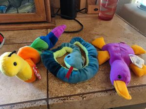 TY Beanie Babies. Group of 3 for 5.00 for Sale in Tempe, AZ