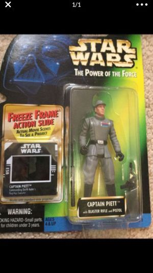 Star Wars Captain Piett Action Figure (Rare) for Sale in Selma, TX