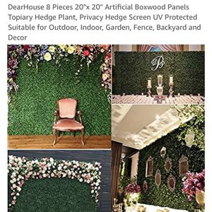Artificial Greenwall Hedge Panels for Sale in Philadelphia, PA