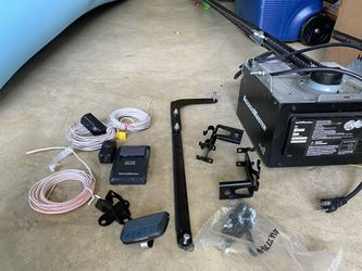 Garage Door Motor with Rail and parts for Sale in Fairfax,  VA