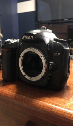NIKON D50 with 2 lenses for Sale in Ellington, CT