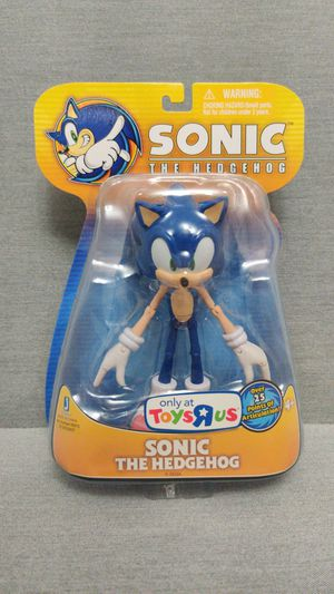2009 Toys R Us Exclusive Sonic the Hedgehog Collectors Figure from Jazwares for Sale in Renton, WA
